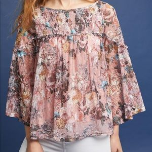 Anthropologie Akemi + Kin Patrizia blouse